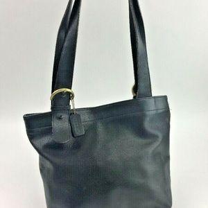 Authentic COACH VINTAGE Lafayette Black Leather To